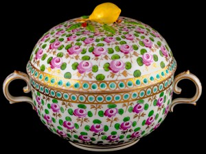 Meissen Covered Soup Bowls